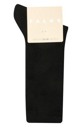 Женские носки hearts FALKE черного цвета, арт. 46403 | Фото 1