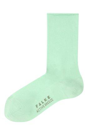 Женские носки FALKE светло-зеленого цвета, арт. 46125 | Фото 1