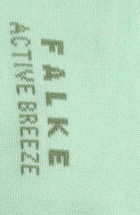 Женские носки FALKE светло-зеленого цвета, арт. 46125 | Фото 2