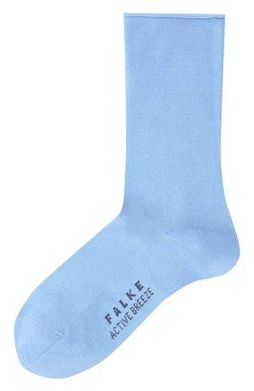 Женские носки FALKE голубого цвета, арт. 46125 | Фото 1