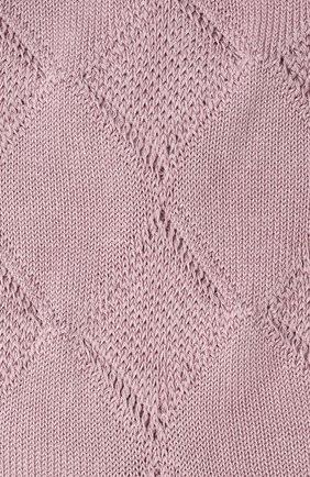 Женские хлопковые носки FALKE сиреневого цвета, арт. 46407 | Фото 2