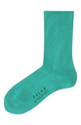 Женские носки FALKE зеленого цвета, арт. 46125 | Фото 1