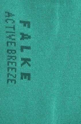 Женские носки FALKE зеленого цвета, арт. 46125 | Фото 2