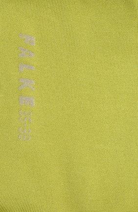 Женские носки FALKE зеленого цвета, арт. 47673 | Фото 2