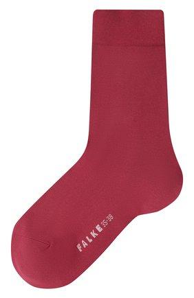 Женские носки FALKE бордового цвета, арт. 47673 | Фото 1