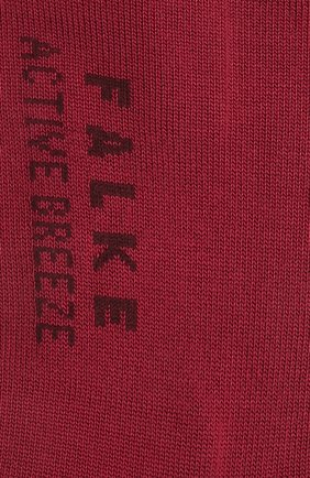 Женские носки FALKE бордового цвета, арт. 46125 | Фото 2