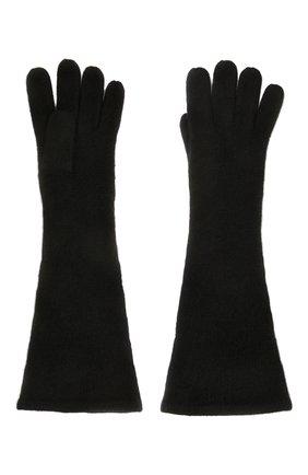 Женские кашемировые перчатки TOTÊME черного цвета, арт. 211-892-753 | Фото 2
