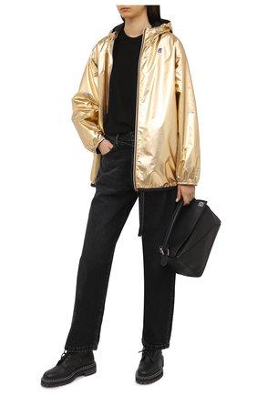 Женская ветровка FENDI золотого цвета, арт. FAN019 AERS | Фото 2