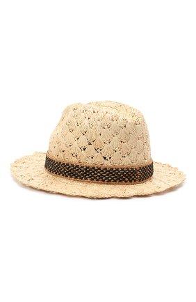 Женская соломенная шляпа valentino x borsalino VALENTINO бежевого цвета, арт. VW2HAA59/QJB | Фото 2