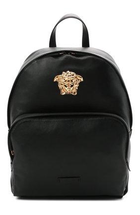 Женский рюкзак medusa VERSACE черного цвета, арт. DFZ8504/DVT8ME | Фото 1