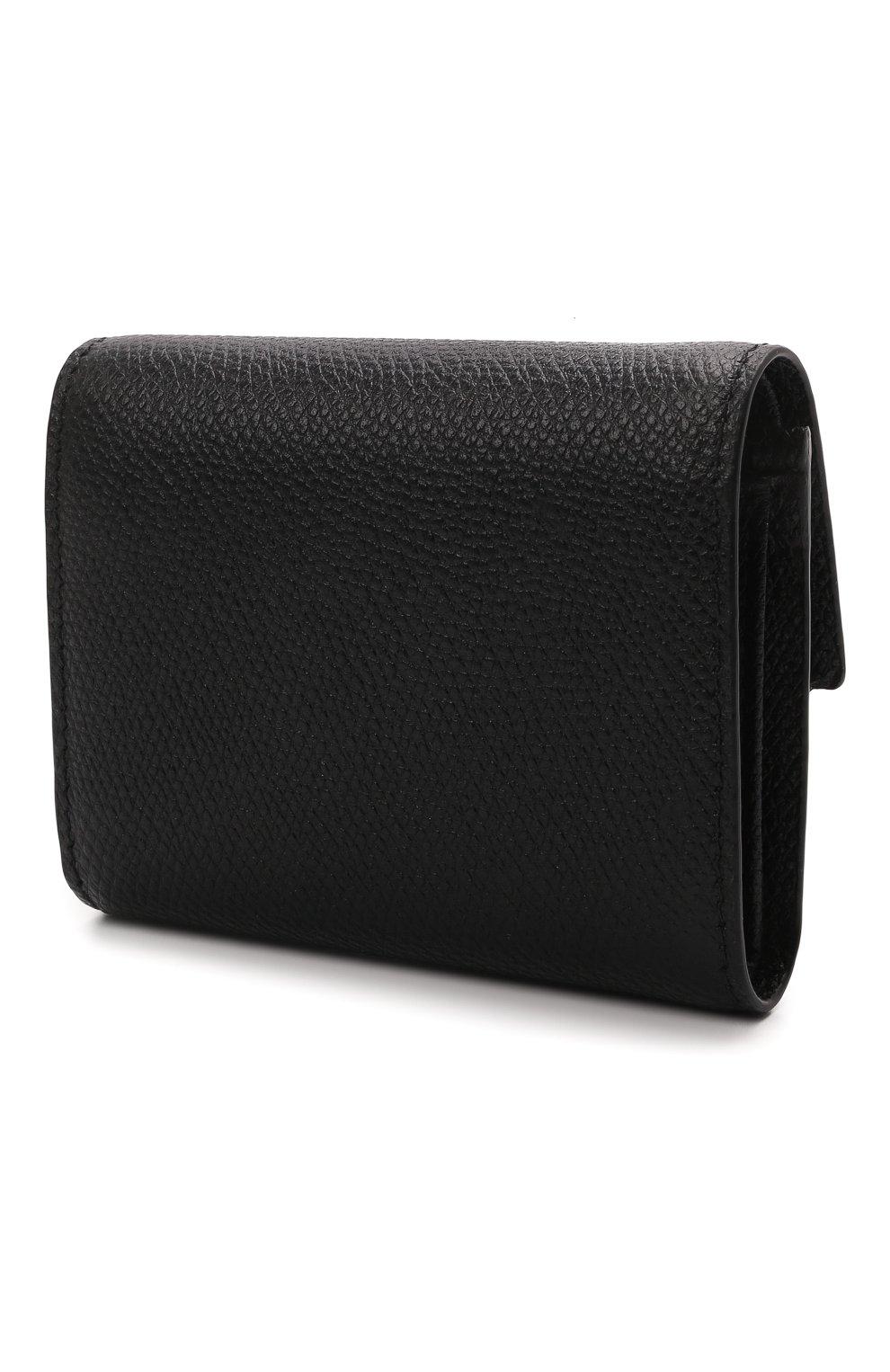 Женские кожаный кошелек valentino garavani VALENTINO черного цвета, арт. VW0P0T39/RQR | Фото 2