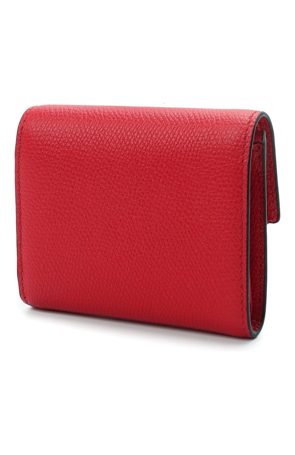 Женские кожаный кошелек valentino garavani VALENTINO красного цвета, арт. VW0P0T39/RQR | Фото 2