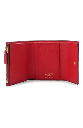 Женские кожаный кошелек valentino garavani VALENTINO красного цвета, арт. VW0P0T39/RQR | Фото 3