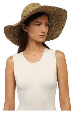 Женская шляпа INVERNI коричневого цвета, арт. 5226 CP   Фото 2
