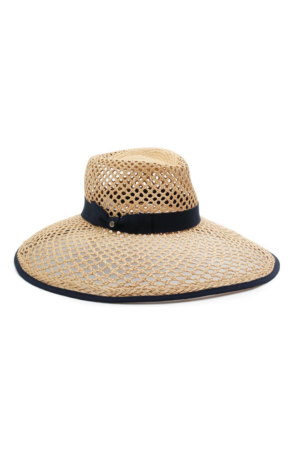 Женская соломенная шляпа INVERNI светло-бежевого цвета, арт. 5207 CP | Фото 1