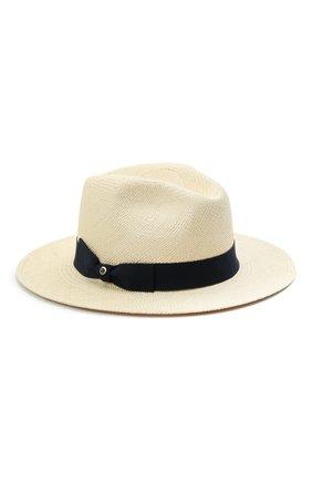 Женская соломенная шляпа INVERNI светло-бежевого цвета, арт. 5204 CP   Фото 1