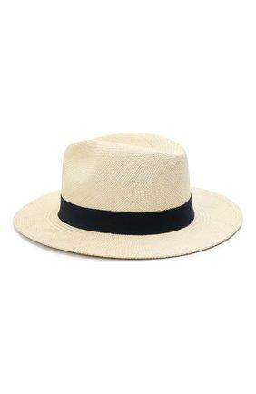 Женская соломенная шляпа INVERNI светло-бежевого цвета, арт. 5204 CP   Фото 2