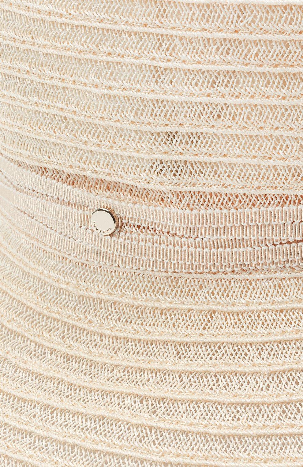 Женская шляпа INVERNI бежевого цвета, арт. 5197 CC | Фото 3