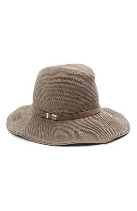 Женская шляпа INVERNI коричневого цвета, арт. 5186 CC   Фото 1
