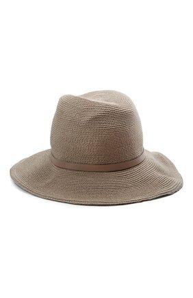 Женская шляпа INVERNI коричневого цвета, арт. 5186 CC   Фото 2