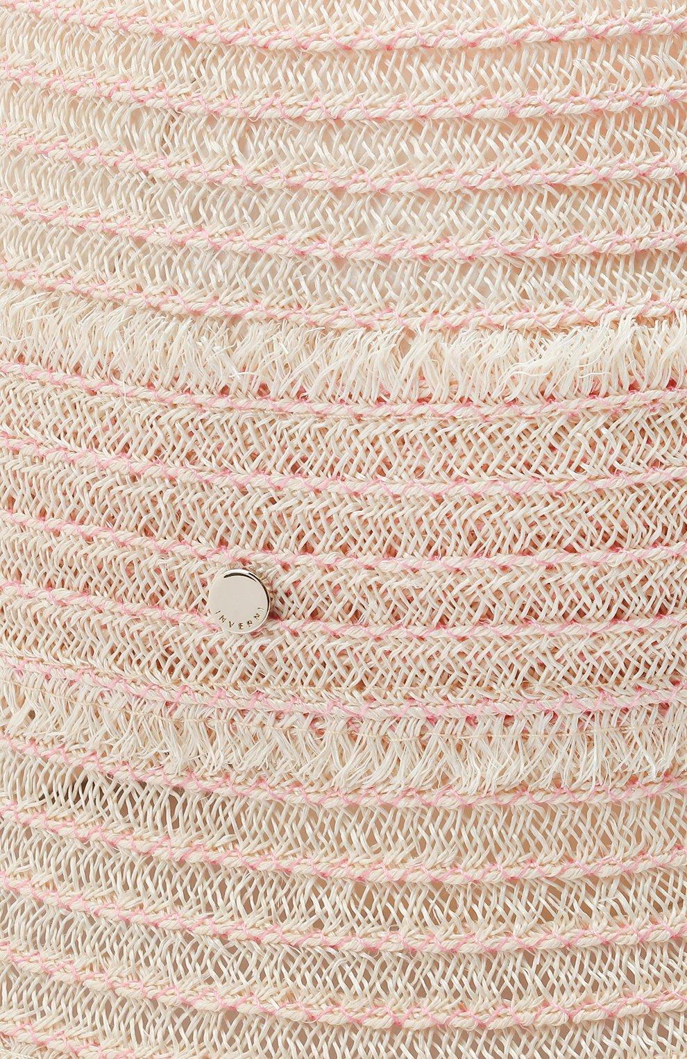 Женская панама INVERNI светло-бежевого цвета, арт. 5179 CC | Фото 3