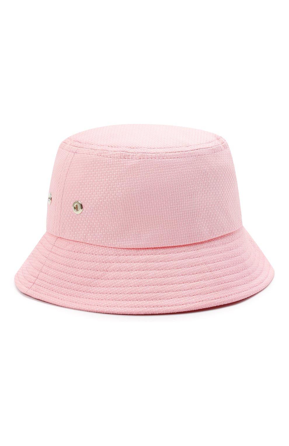 Женская хлопковая панама INVERNI розового цвета, арт. 5171 CT | Фото 1