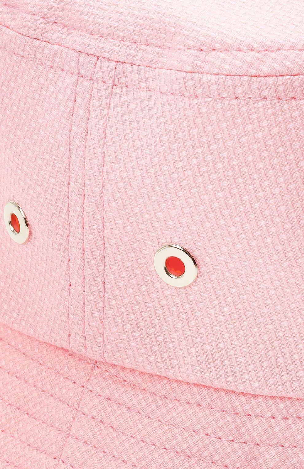 Женская хлопковая панама INVERNI розового цвета, арт. 5171 CT | Фото 3
