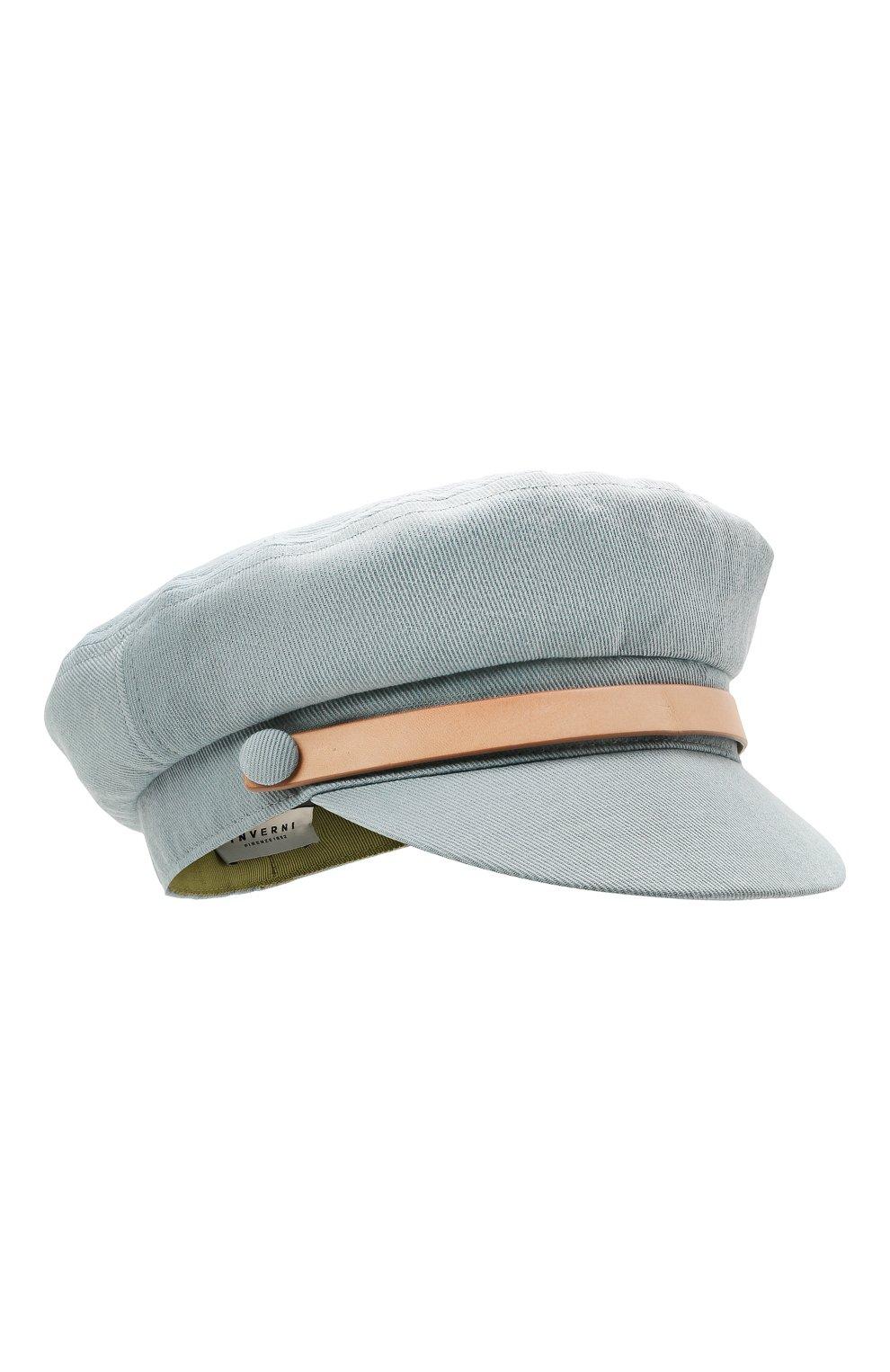 Женская кепка INVERNI голубого цвета, арт. 5170 CT | Фото 1