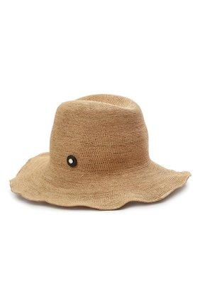 Женская соломенная шляпа INVERNI бежевого цвета, арт. 4458 CP | Фото 1