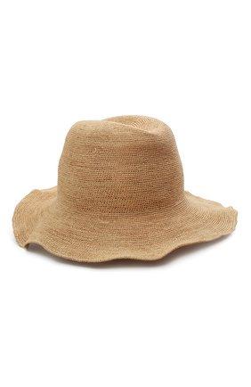 Женская соломенная шляпа INVERNI бежевого цвета, арт. 4458 CP | Фото 2