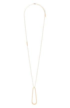 Женское колье BRUNELLO CUCINELLI золотого цвета, арт. MC0W9LA28 | Фото 1