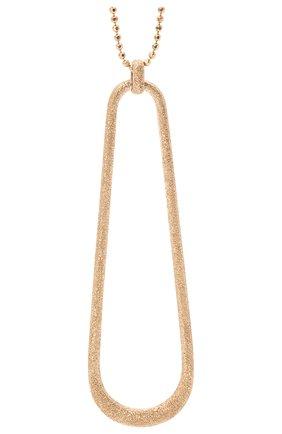 Женское колье BRUNELLO CUCINELLI золотого цвета, арт. MC0W9LA28 | Фото 2