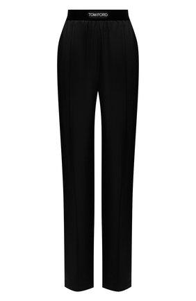 Женские брюки TOM FORD черного цвета, арт. PAW381-FAX180 | Фото 1