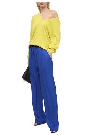 Женские брюки TOM FORD синего цвета, арт. PAW381-FAX180 | Фото 2
