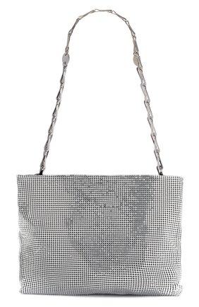 Женская сумка pixel 1969 PACO RABANNE серебряного цвета, арт. 19ESS0044MET004 | Фото 1
