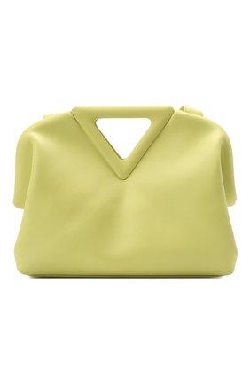 Женская сумка point BOTTEGA VENETA желтого цвета, арт. 652446/VCP40 | Фото 1