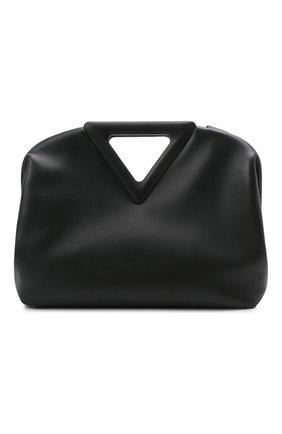 Женская сумка point BOTTEGA VENETA черного цвета, арт. 652446/VCP40   Фото 1
