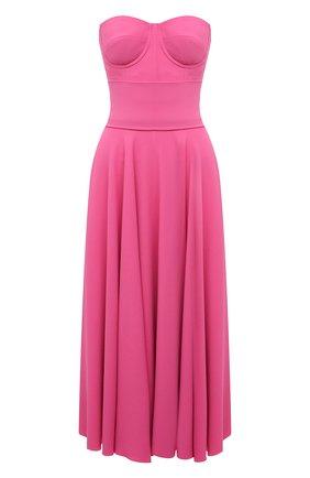 Женское платье DOLCE & GABBANA розового цвета, арт. F6N0QT/FURDV | Фото 1