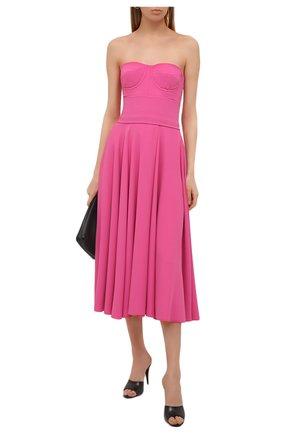 Женское платье DOLCE & GABBANA розового цвета, арт. F6N0QT/FURDV | Фото 2