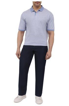 Мужские джинсы PAUL&SHARK темно-синего цвета, арт. 21414202R/FIW/62-64   Фото 2