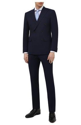 Мужской шерстяной костюм CORNELIANI темно-синего цвета, арт. 877224-1117085/92 Q1 | Фото 1