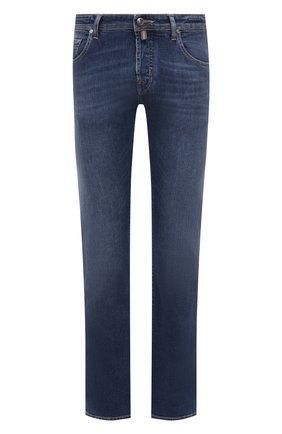 Мужские джинсы JACOB COHEN синего цвета, арт. J620 LIMITED C0MF 08792-W2/55 | Фото 1