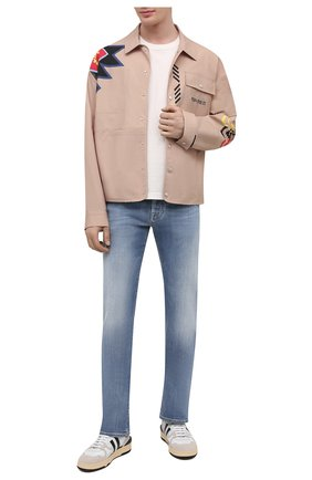 Мужские джинсы JACOB COHEN голубого цвета, арт. J620 LIMITED C0MF 08792-W3/55 | Фото 2