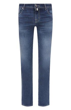 Мужские джинсы JACOB COHEN синего цвета, арт. J625 C0MF 02045-W3/55 | Фото 1