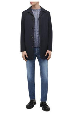Мужские джинсы JACOB COHEN синего цвета, арт. J625 C0MF 02045-W3/55 | Фото 2