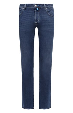 Мужские джинсы JACOB COHEN синего цвета, арт. J688 C0MF 00918-W2/55 | Фото 1