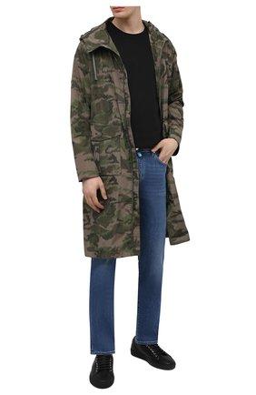 Мужские джинсы JACOB COHEN синего цвета, арт. J688 C0MF 00918-W2/55 | Фото 2