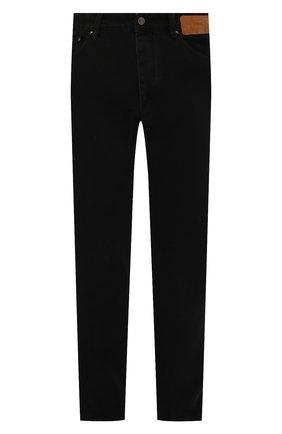 Мужские джинсы PALM ANGELS черного цвета, арт. PMYA012S21DEN0051001 | Фото 1