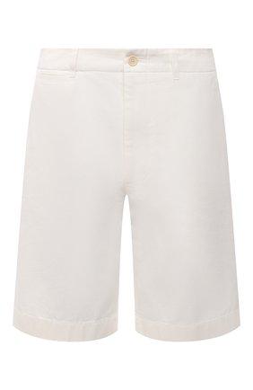 Мужские хлопковые шорты GUCCI белого цвета, арт. 639388/ZAF8C | Фото 1