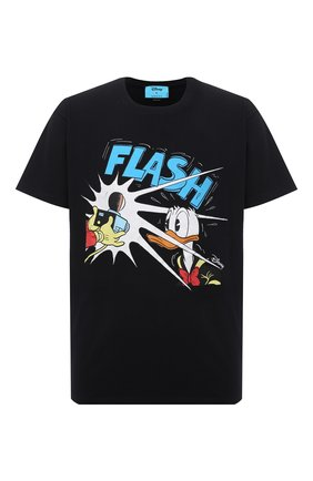 Мужская хлопковая футболка disney x gucci GUCCI черного цвета, арт. 548334/XJDAF | Фото 1 (Материал внешний: Хлопок; Рукава: Короткие; Длина (для топов): Стандартные; Стили: Гранж; Принт: С принтом)